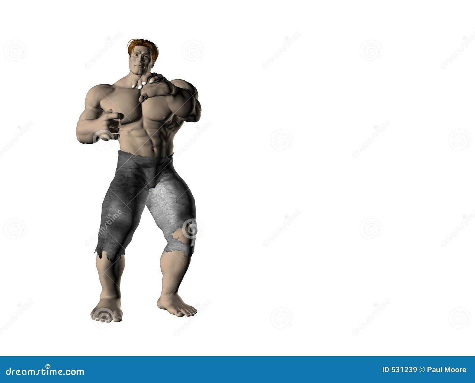 Homem 3 da ação