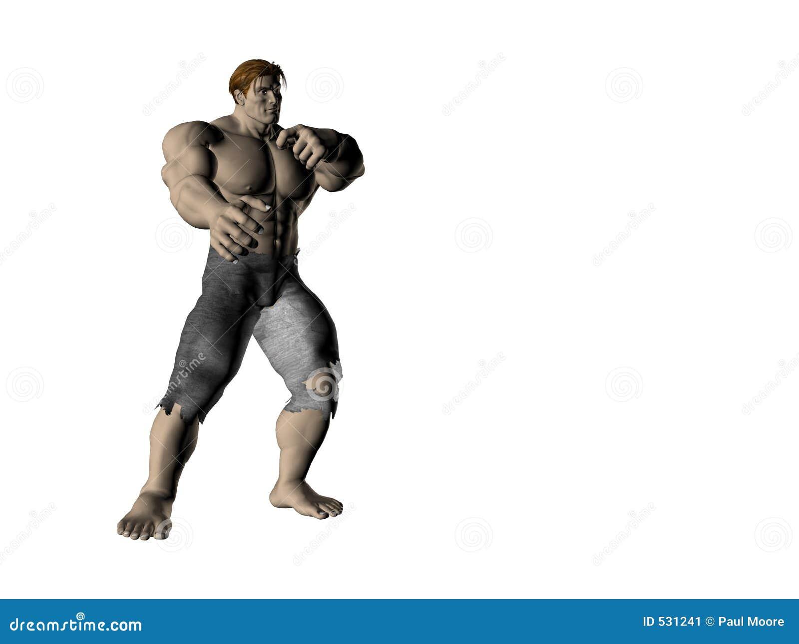 Homem 5 da ação