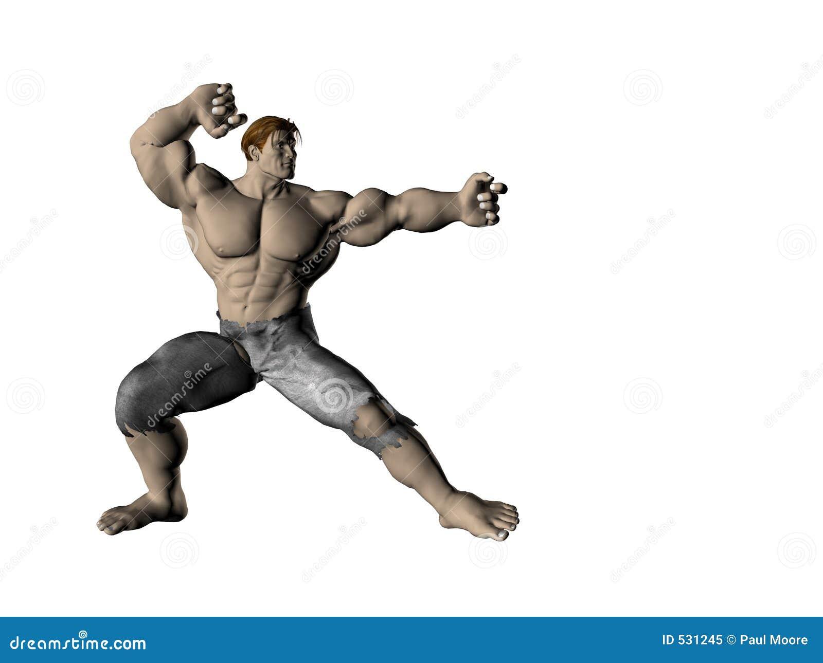 Homem 9 da ação