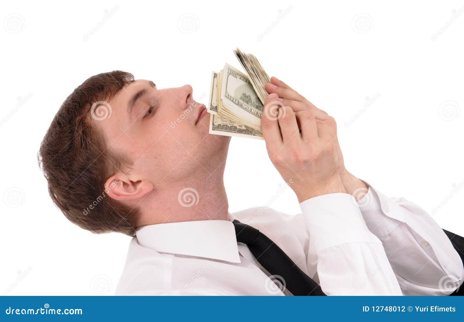 Homem com dinheiro