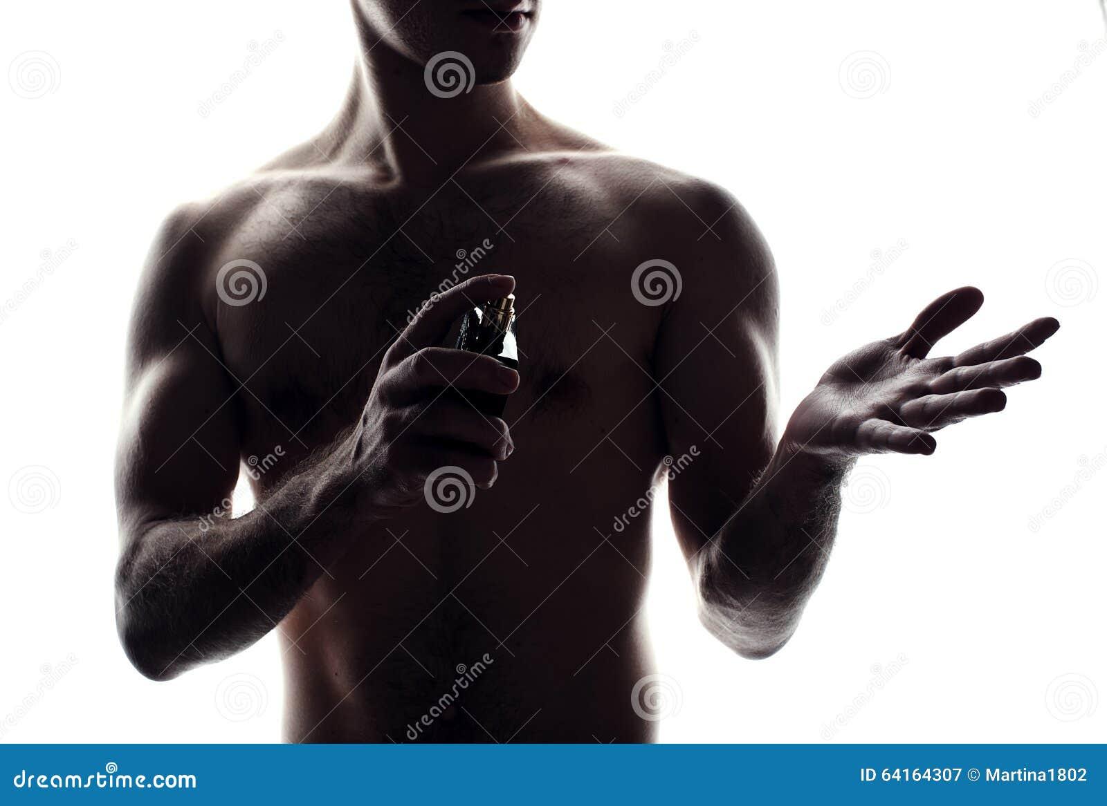 Homem Com Frasco De Perfume Imagem de Stock - Imagem de beleza ... 191337d23cc