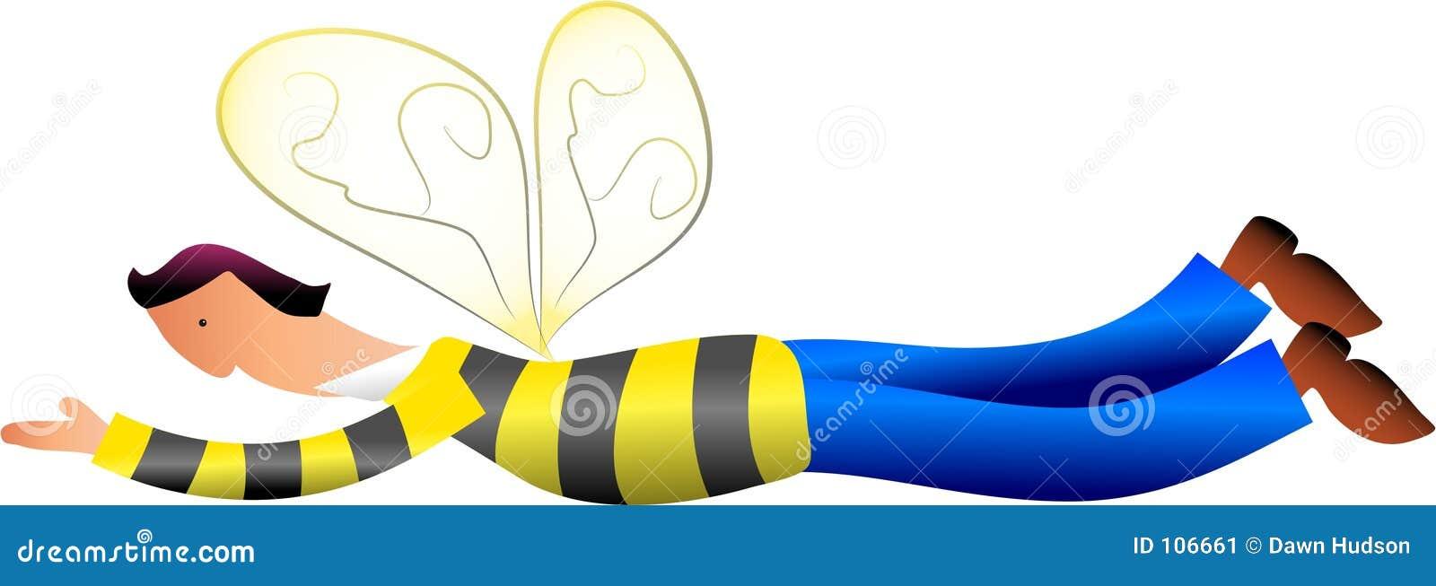 Homem da abelha