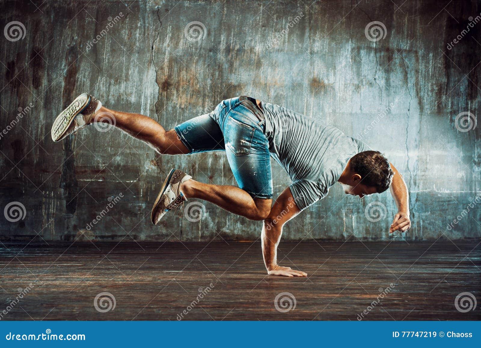 Homem da dança de ruptura