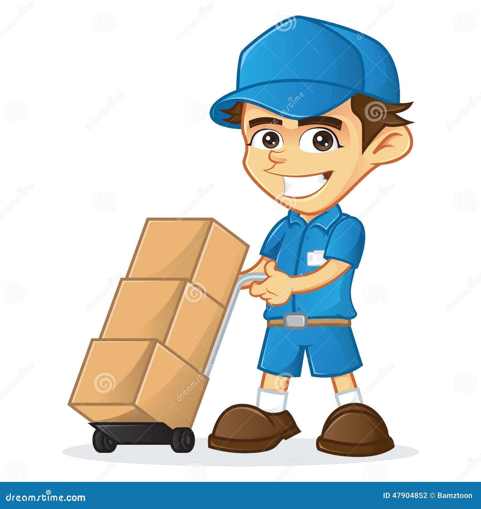 Homem de entrega