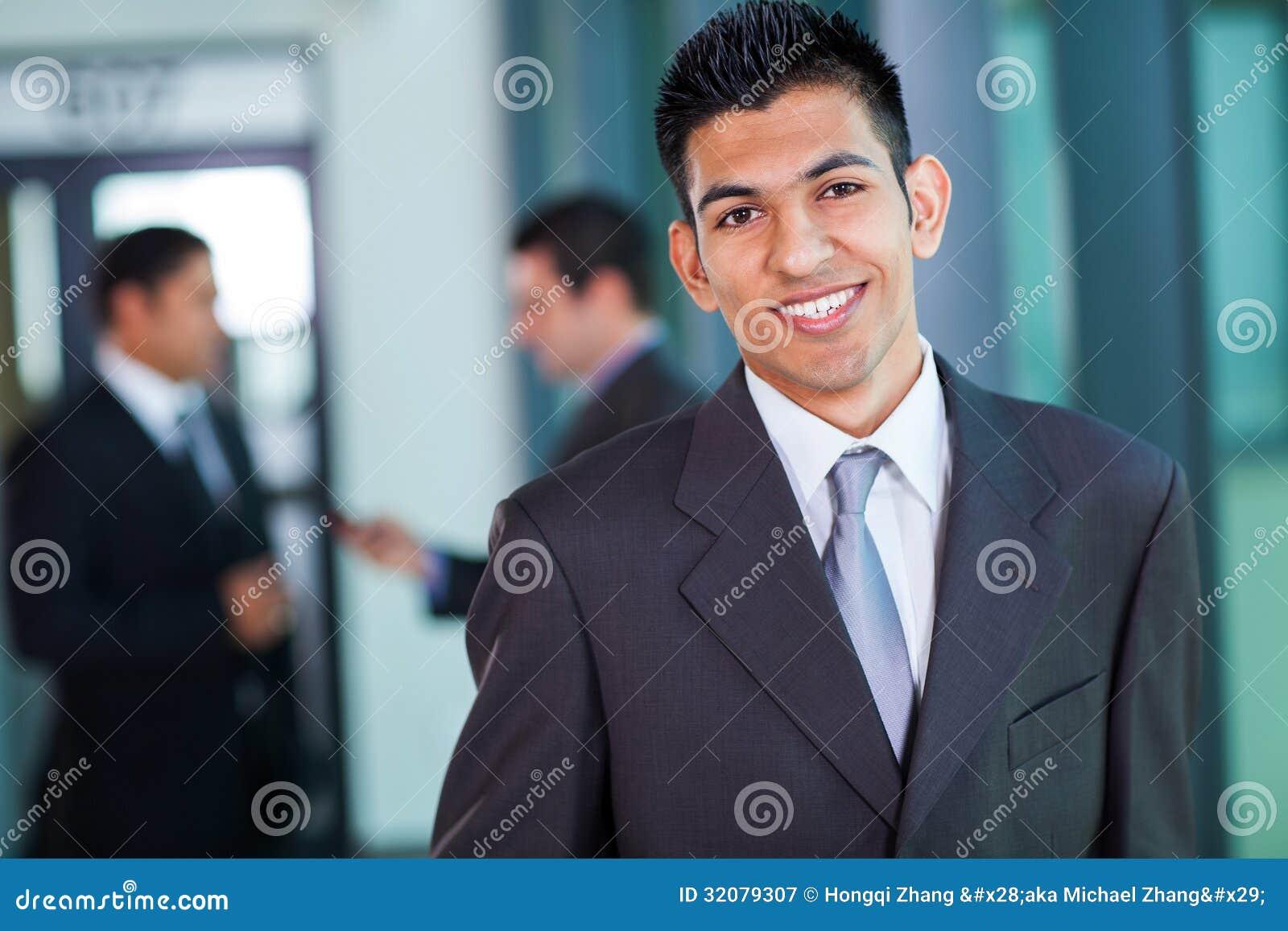 Homem de negócios do Oriente Médio