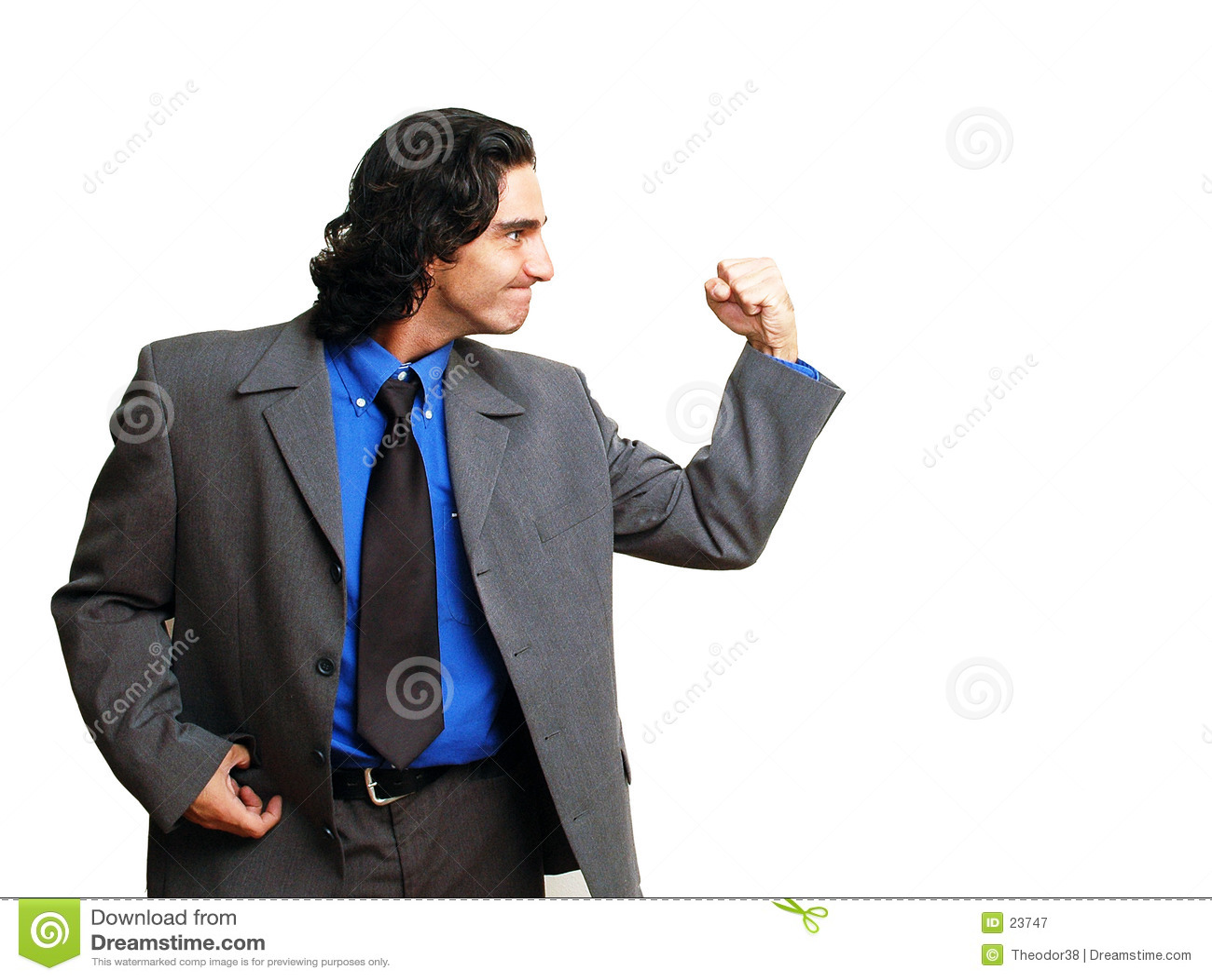 Homem de negócios isoalted-10