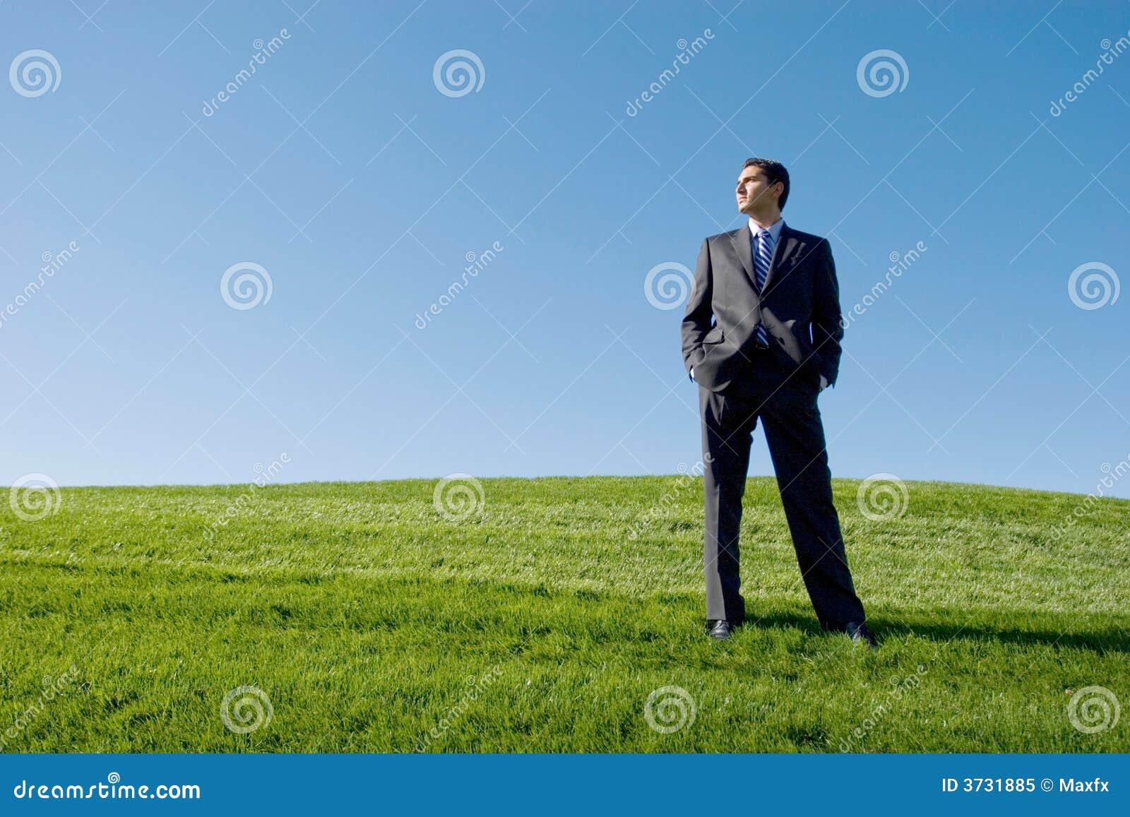Homem de negócios no terno