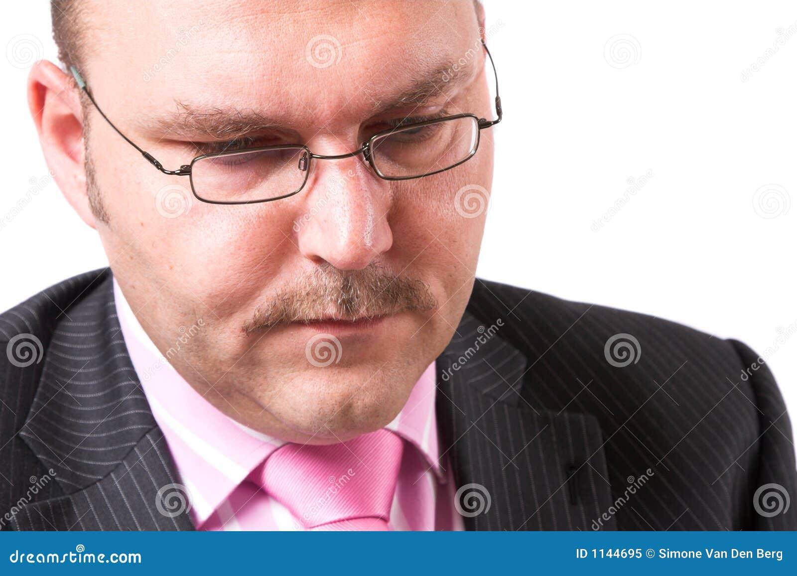Homem de negócios sério