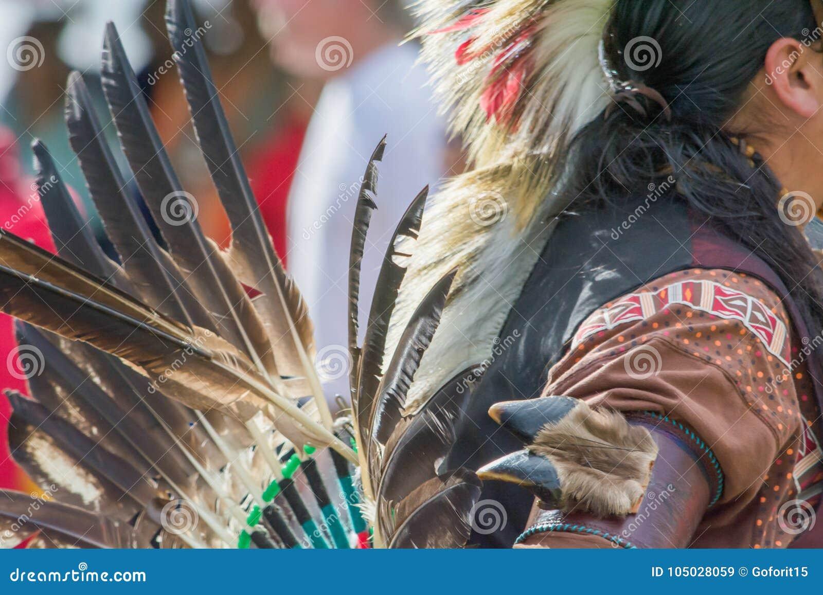Homem do nativo americano