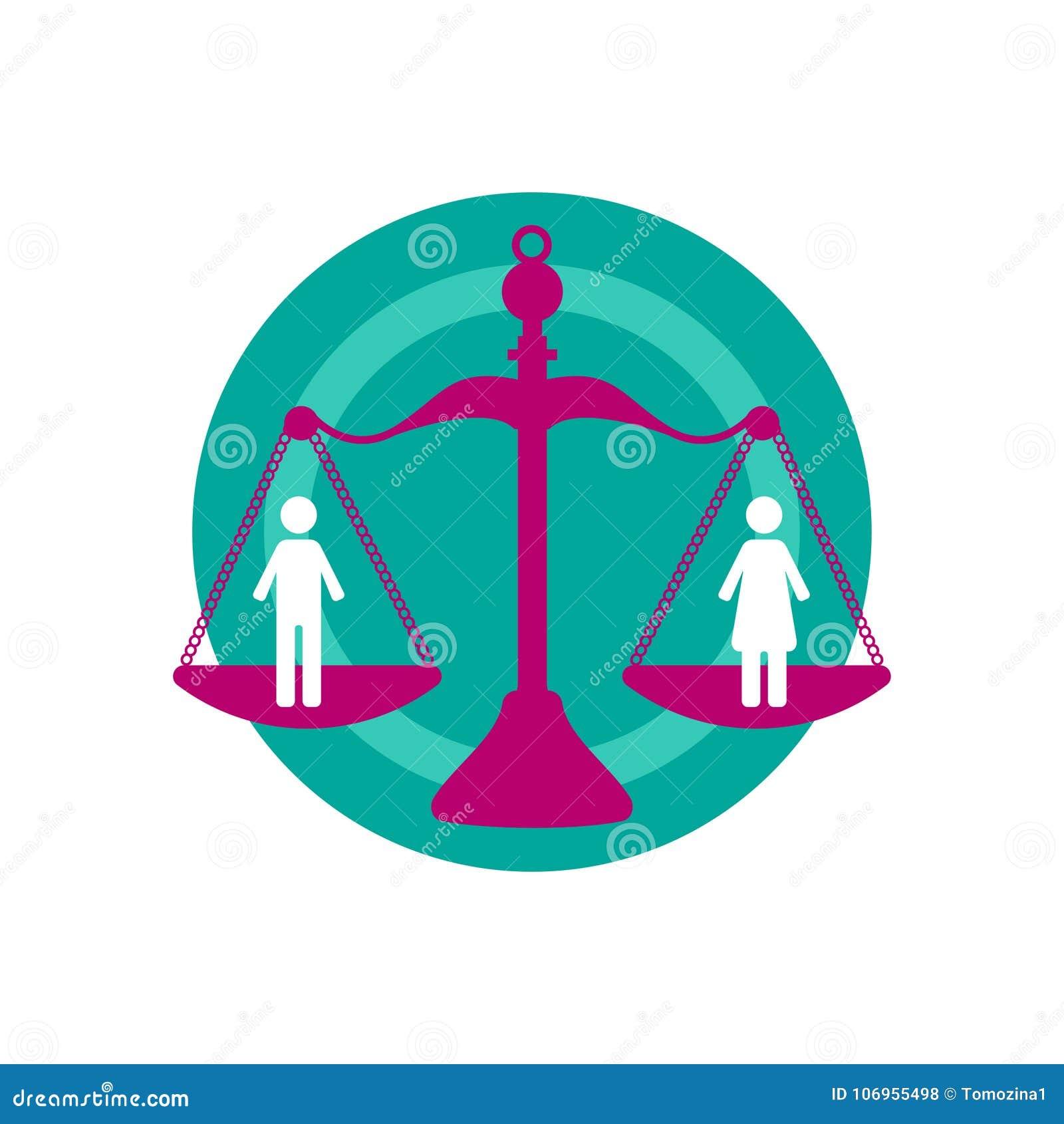 Homem e mulher em escalas