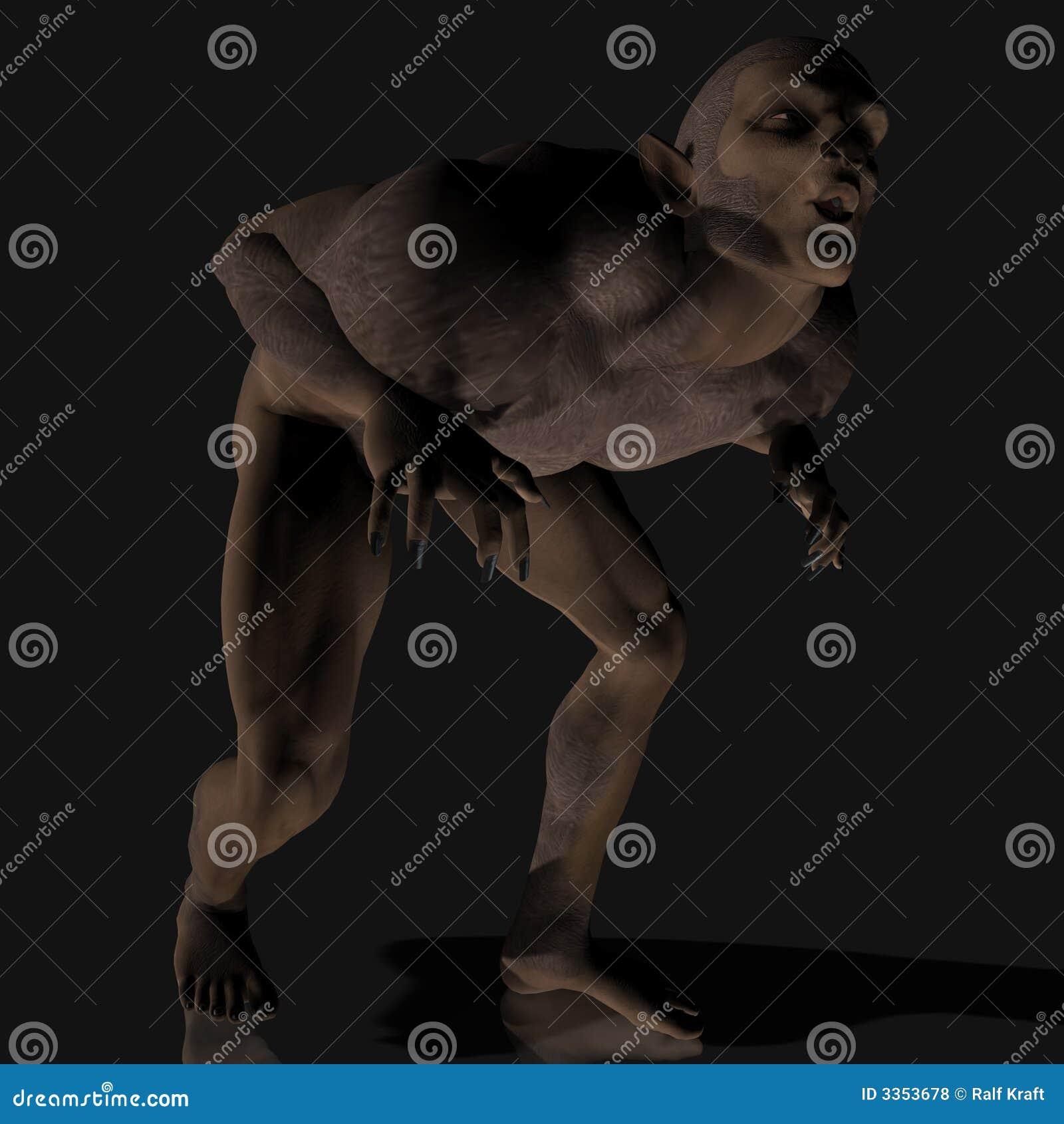 Homem-lobo #01