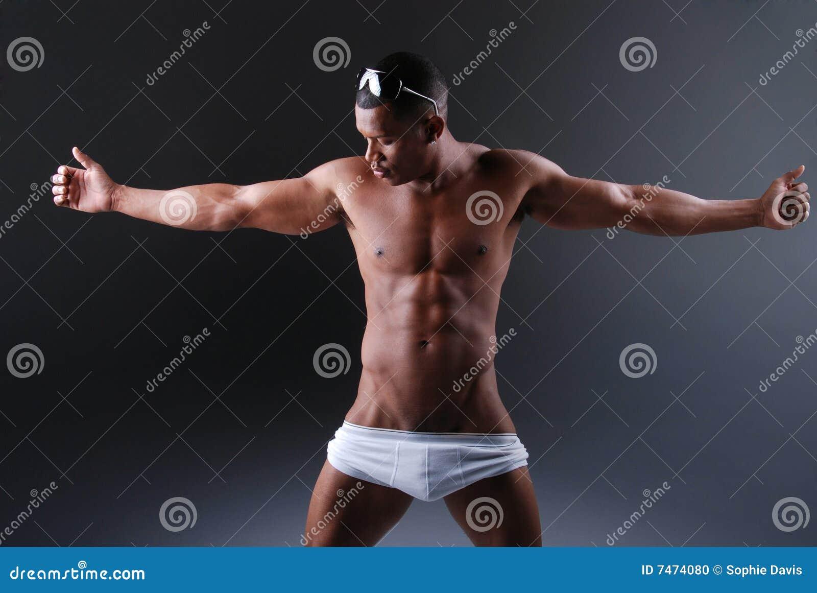 Homem muscular  sexy .