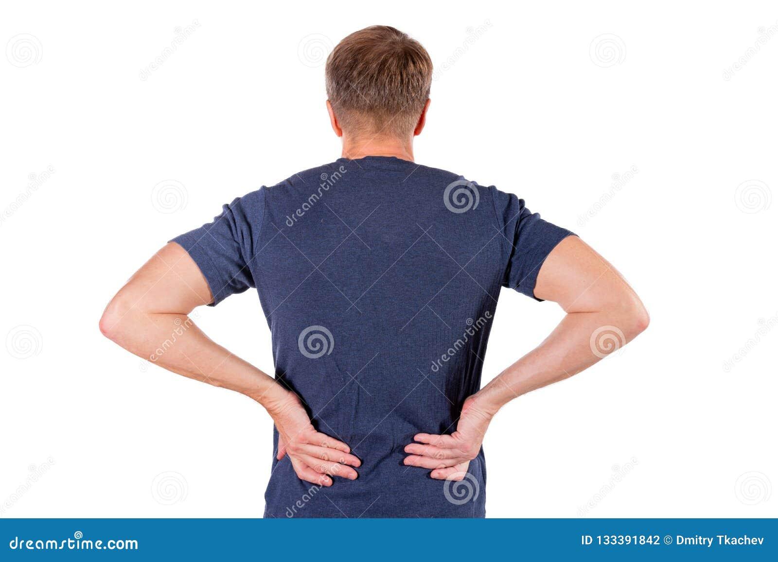 Costas dor dolorosa nas