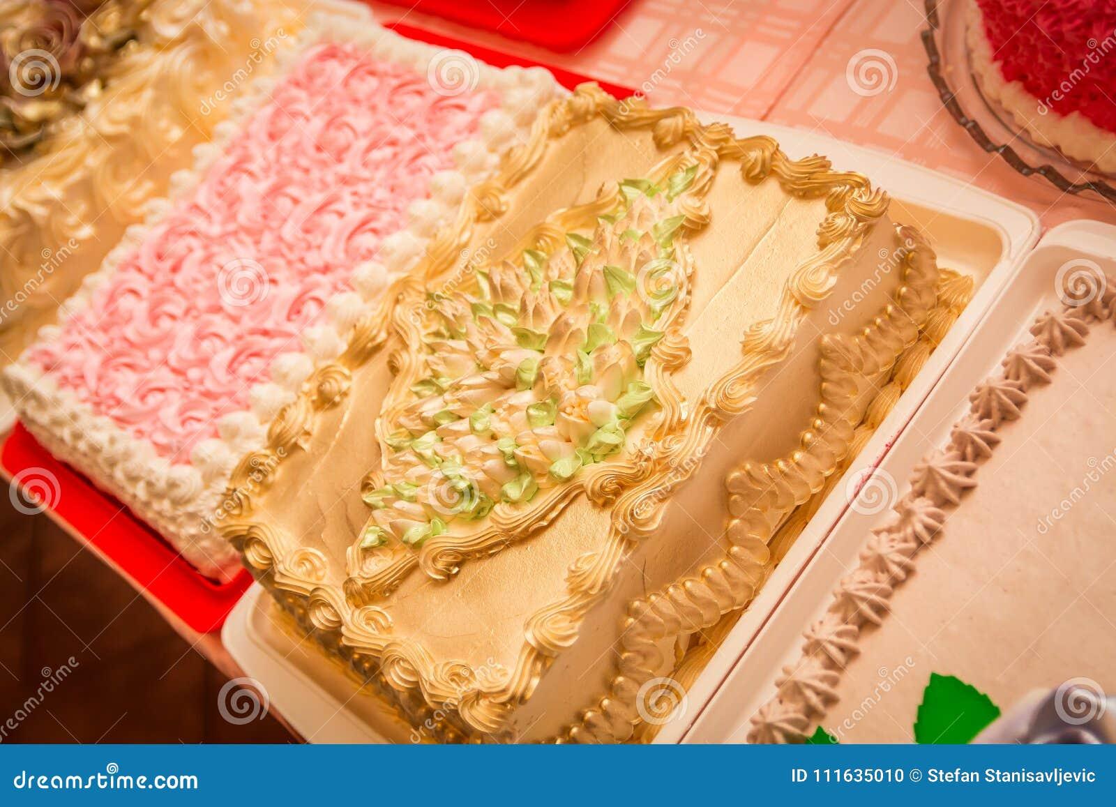 Homemade birthday cake stock photo. Image of cocoa, baked - 111635010