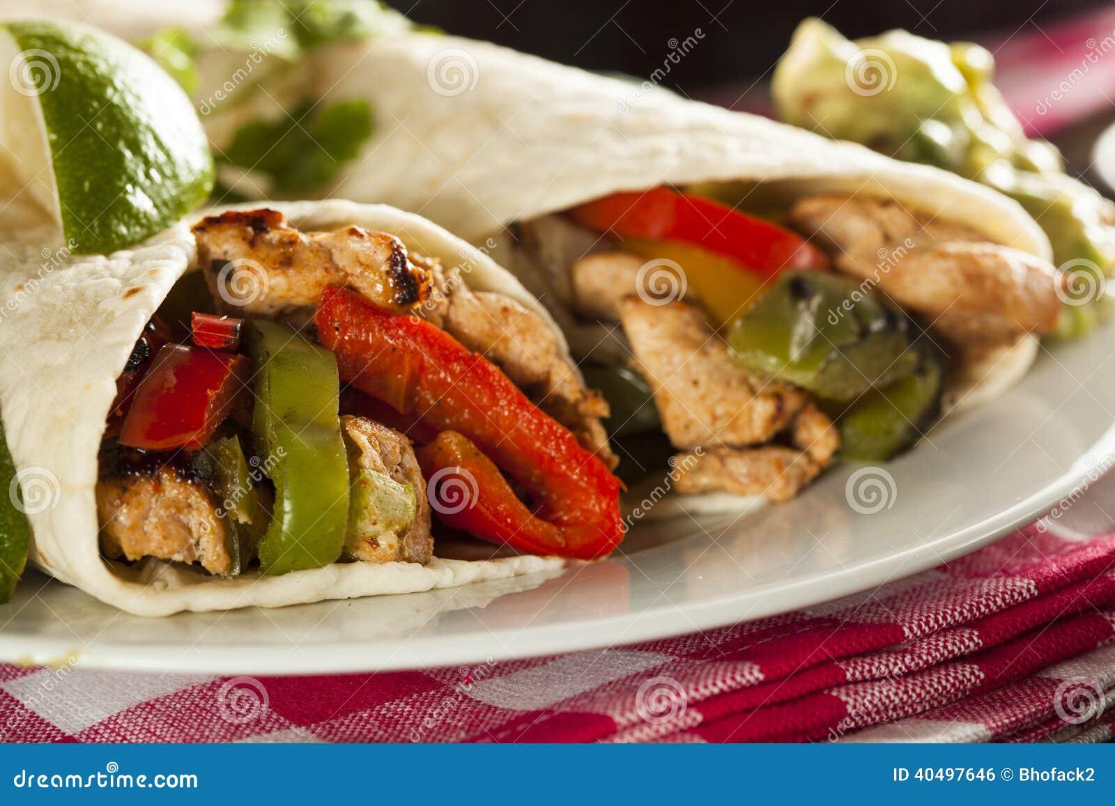 Turkey and pepper fajitas forecasting