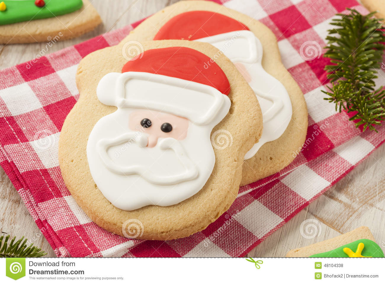 Homemade Christmas Sugar Cookies Stock Photo - Image: 48104338