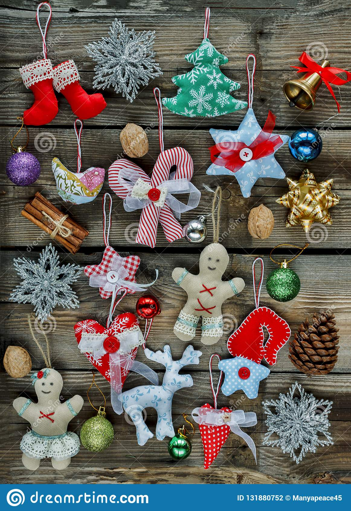 Homemade Christmas Toys, Christmas Tree Decorations,2019,2020, W