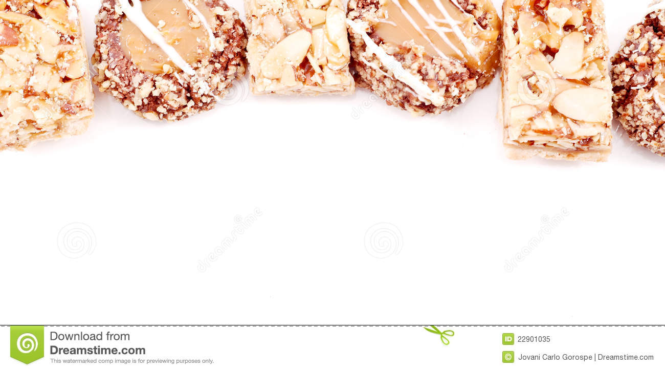 Homemade Dessert Border Royalty Free Stock Photo - Image: 22901035