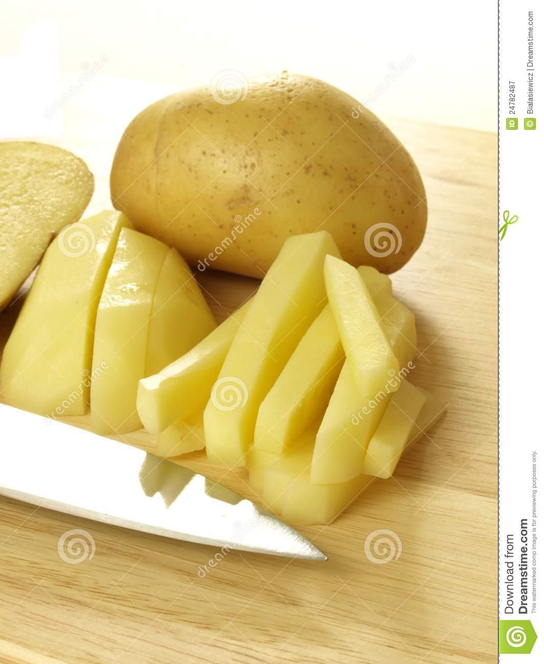 Homemade French Fries Royalty Free Stock Photography - Image: 24782487