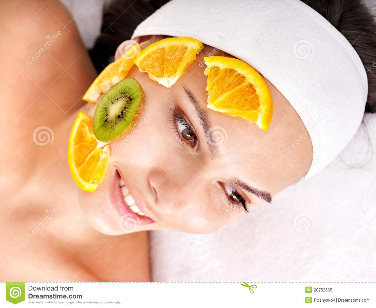 The Homemade fruit facial now