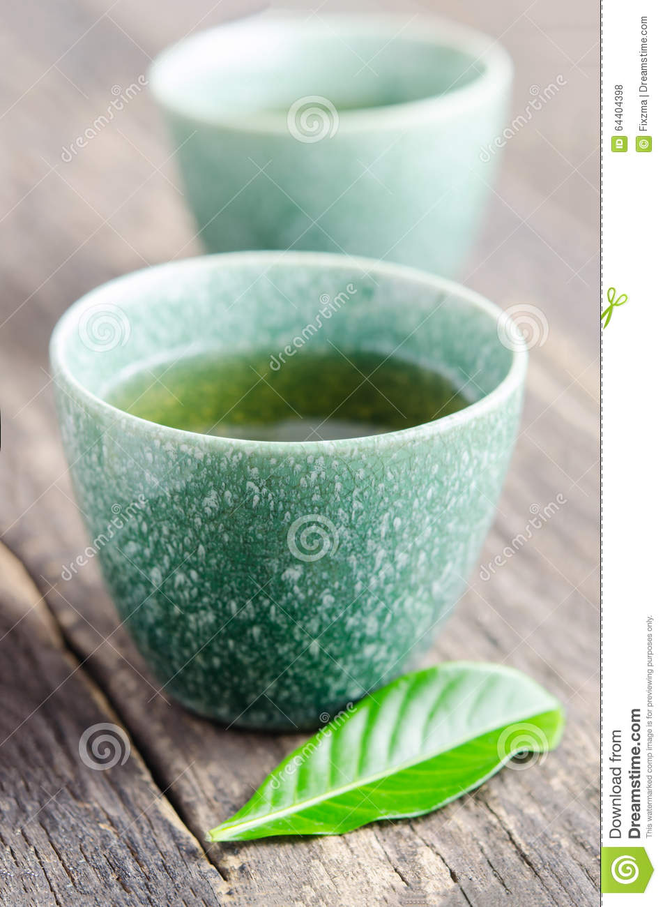 Homemade Japanese Tea Cup Stock Photo Image Of Beverage
