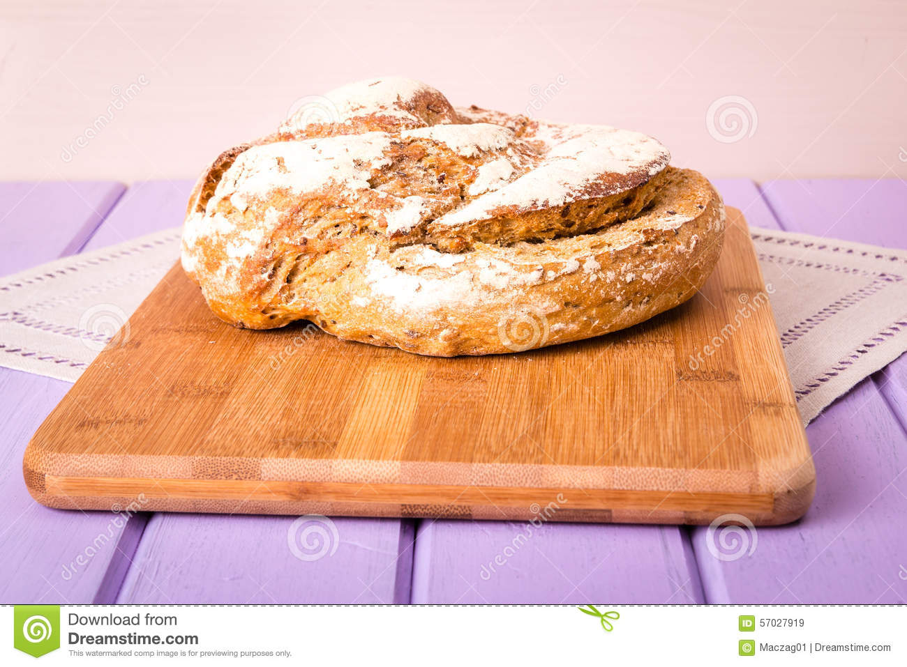 how to make homemade loaf bread
