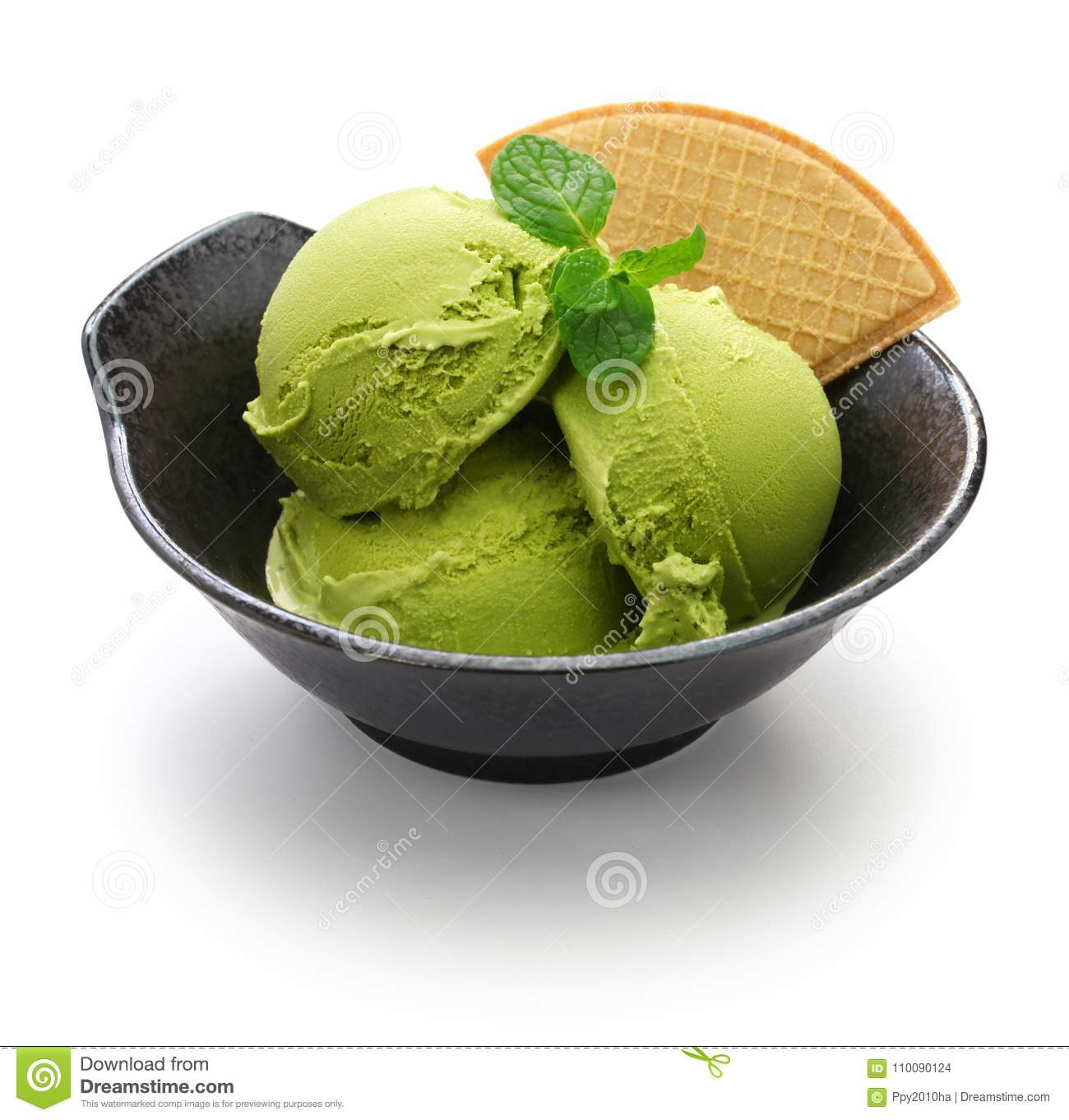 How to make green tea ice cream at home