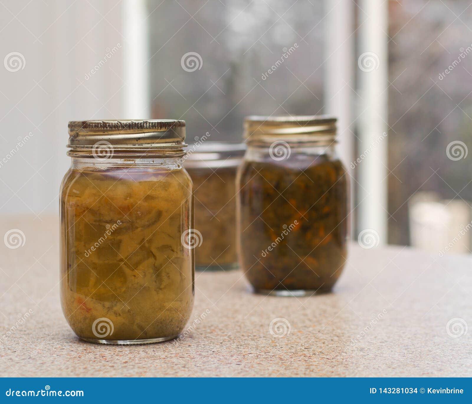 Pickled Relish Bottles