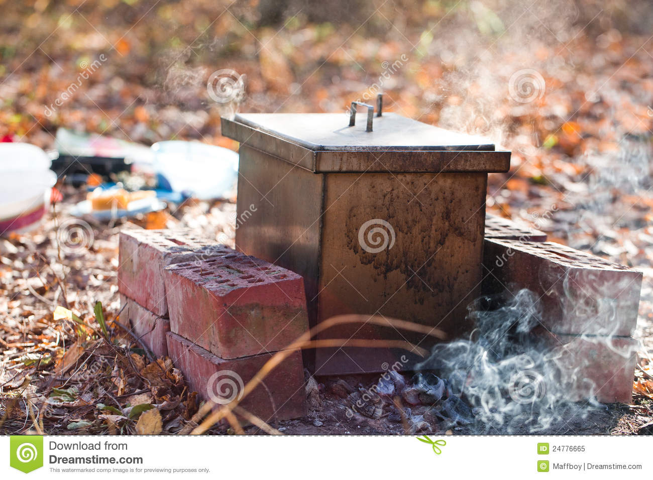 Homemade Smokehouse Royalty Free Stock Photo - Image: 24776665