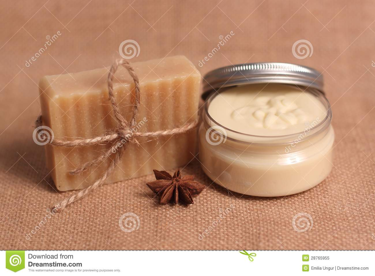 Homemade soap and body butter