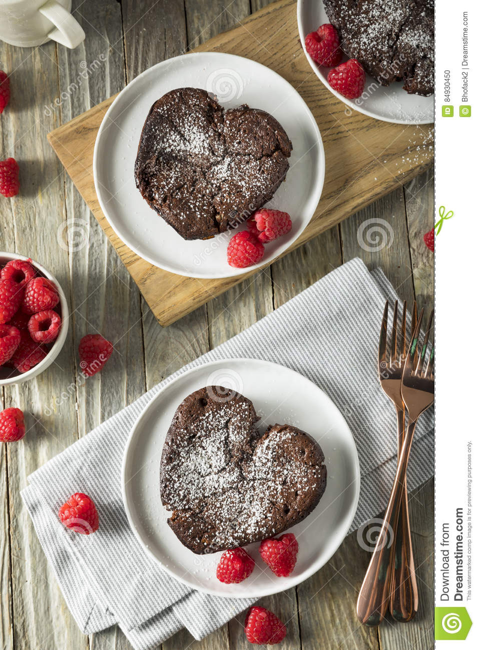 A Glass Jar With Homemade Heart Shaped Cookies Stock Photo