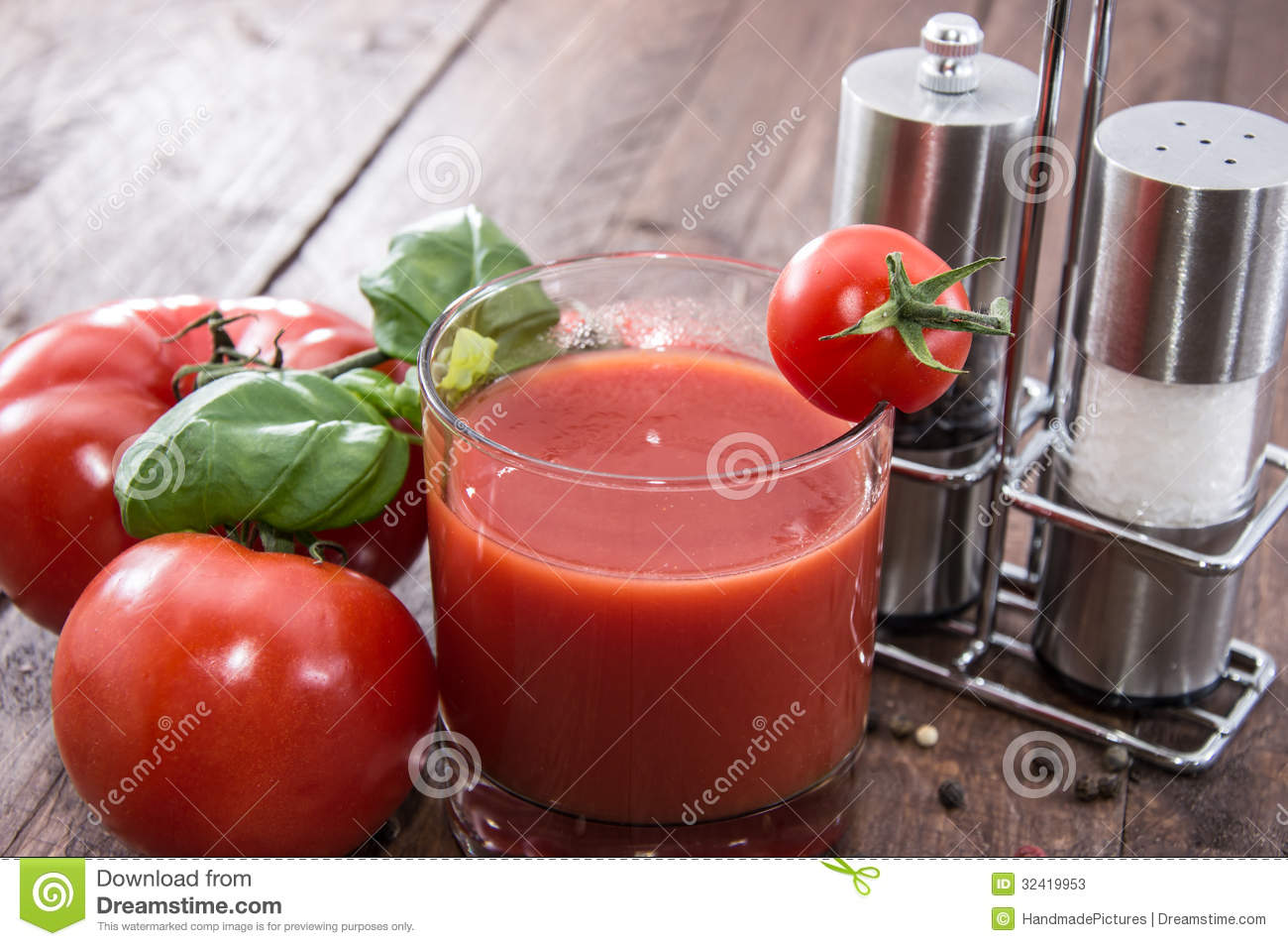 Homemade Tomato Juice Stock Photos - Image: 32419953