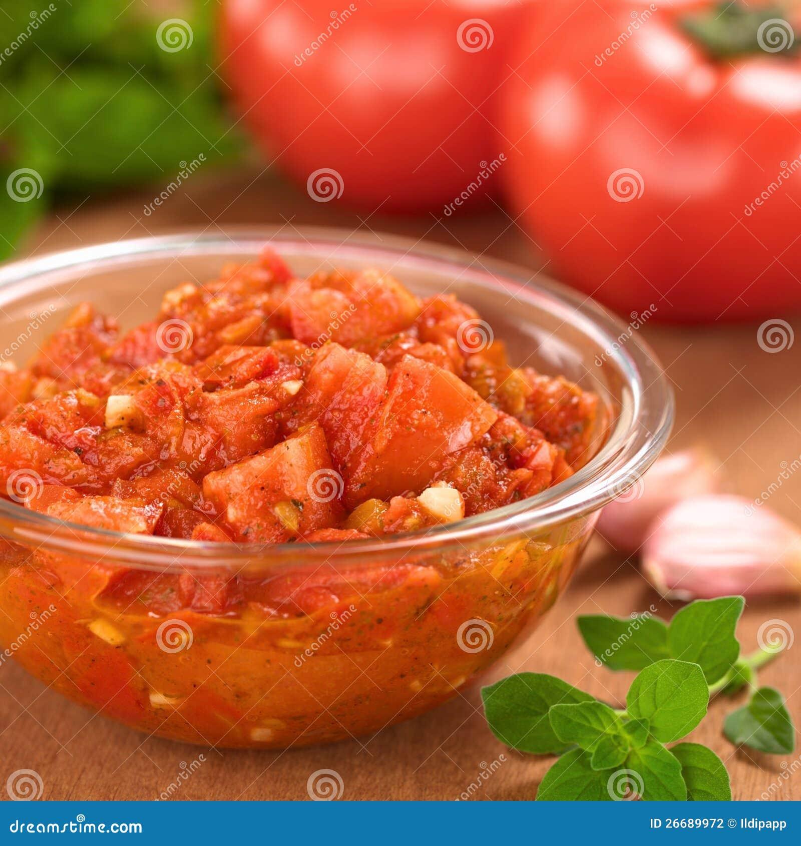 Homemade Tomato Sauce Stock Photography Image 26689972