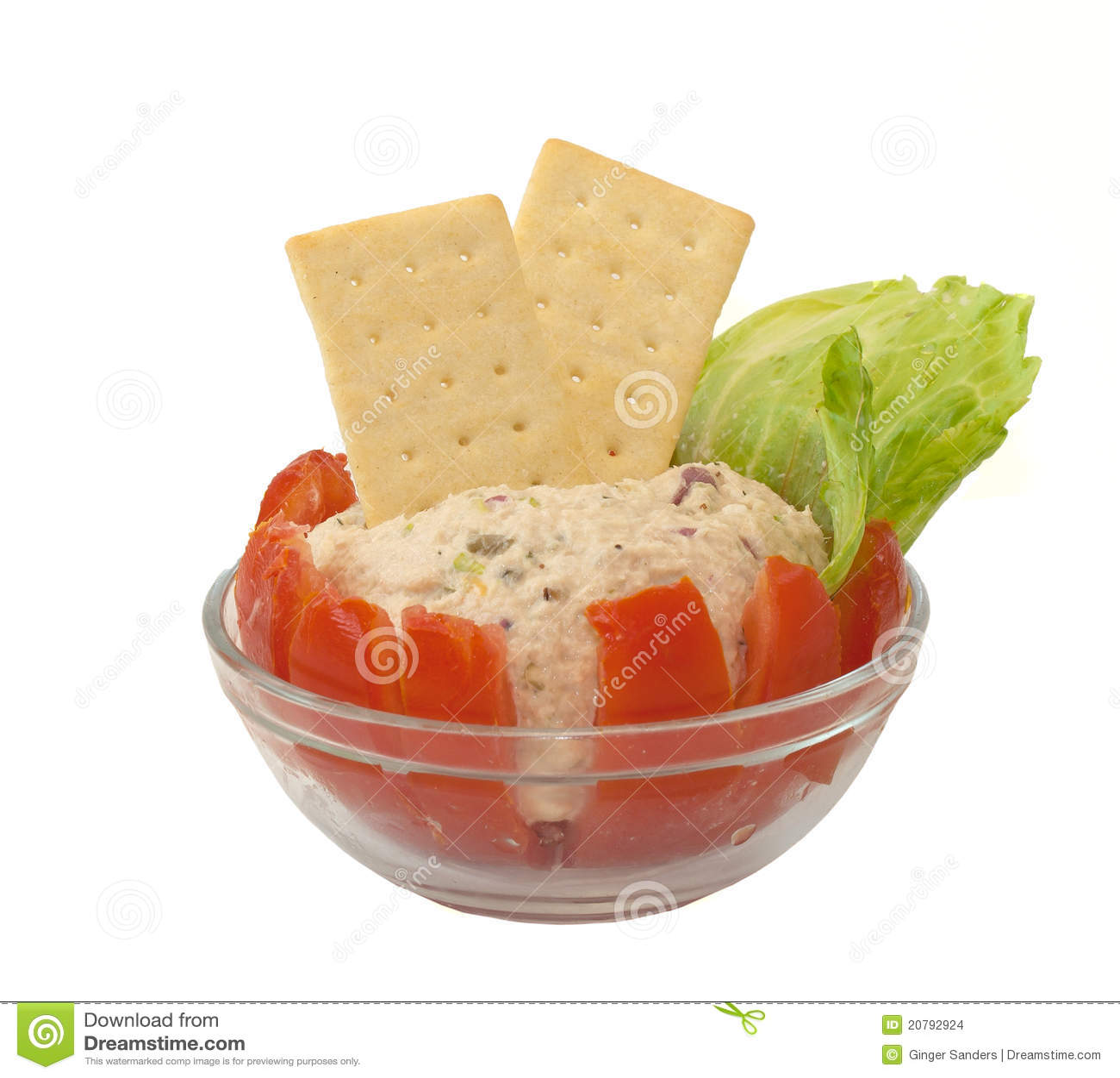 Homemade Tuna Salad Stuffed Tomato