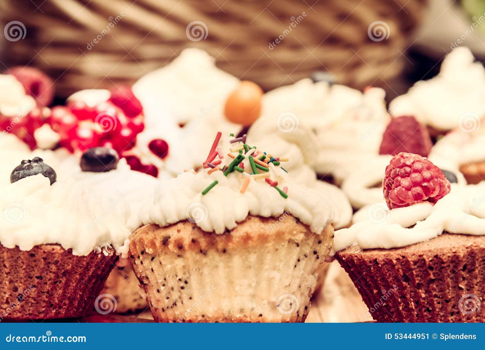 Homemade Vintage Cakes Stock Photo - Image: 53444951