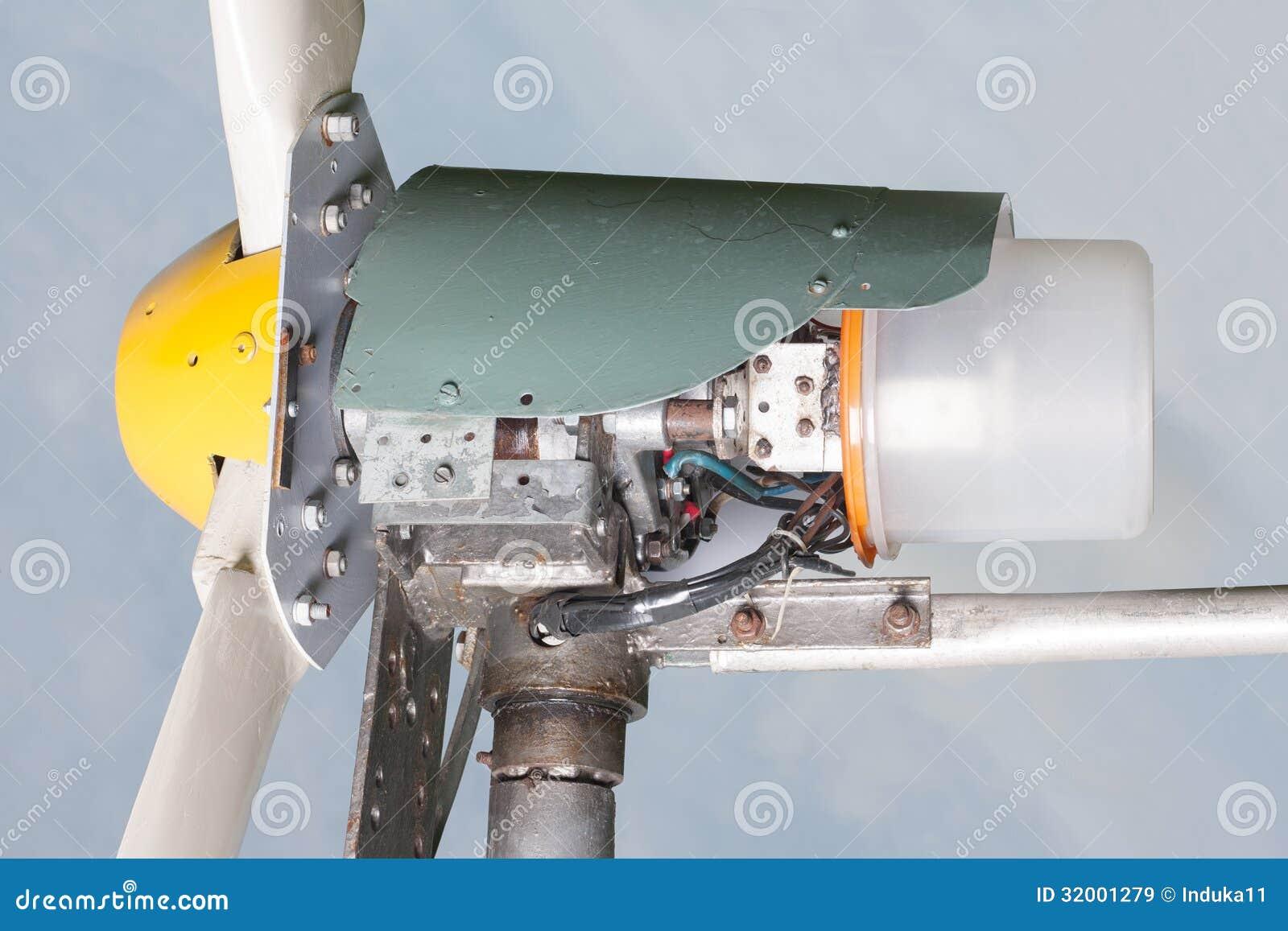 Homemade generator Small Homemade Wind Generator Dreamstimecom Homemade Wind Generator Stock Image Image Of Up Macro 32001279
