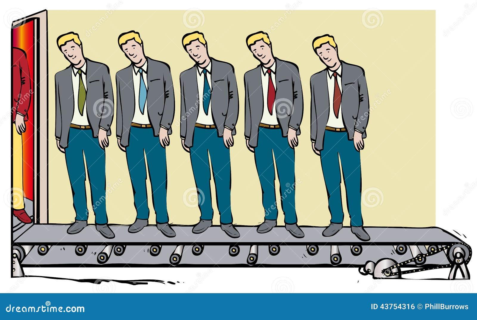 Homens clonados