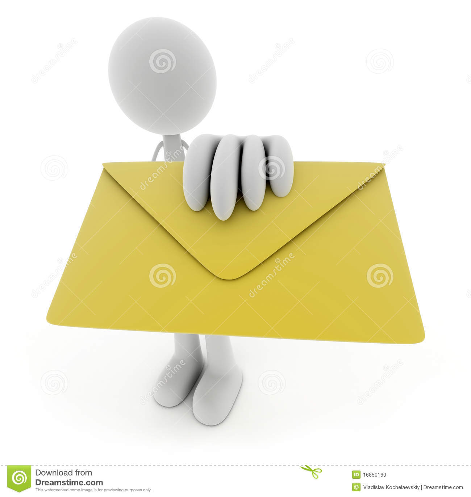 Homens e correio