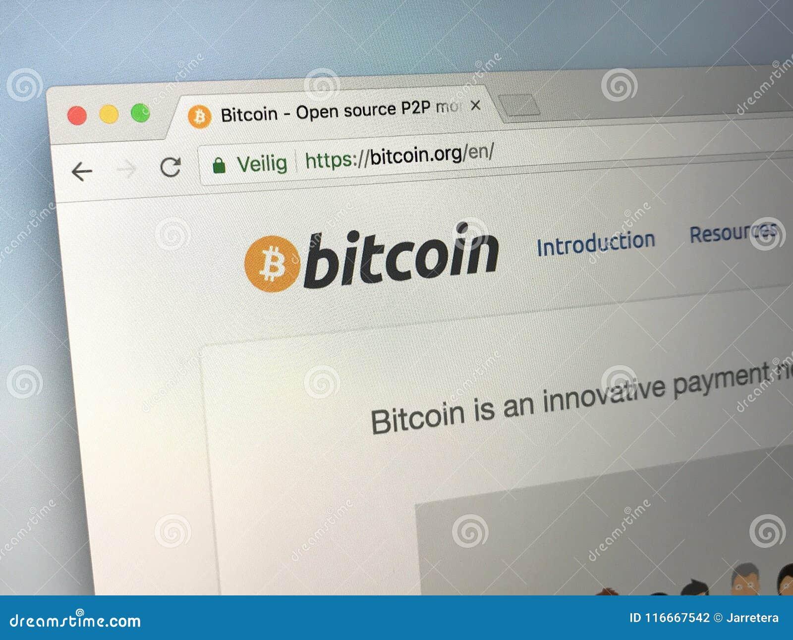 homepage bitcoin