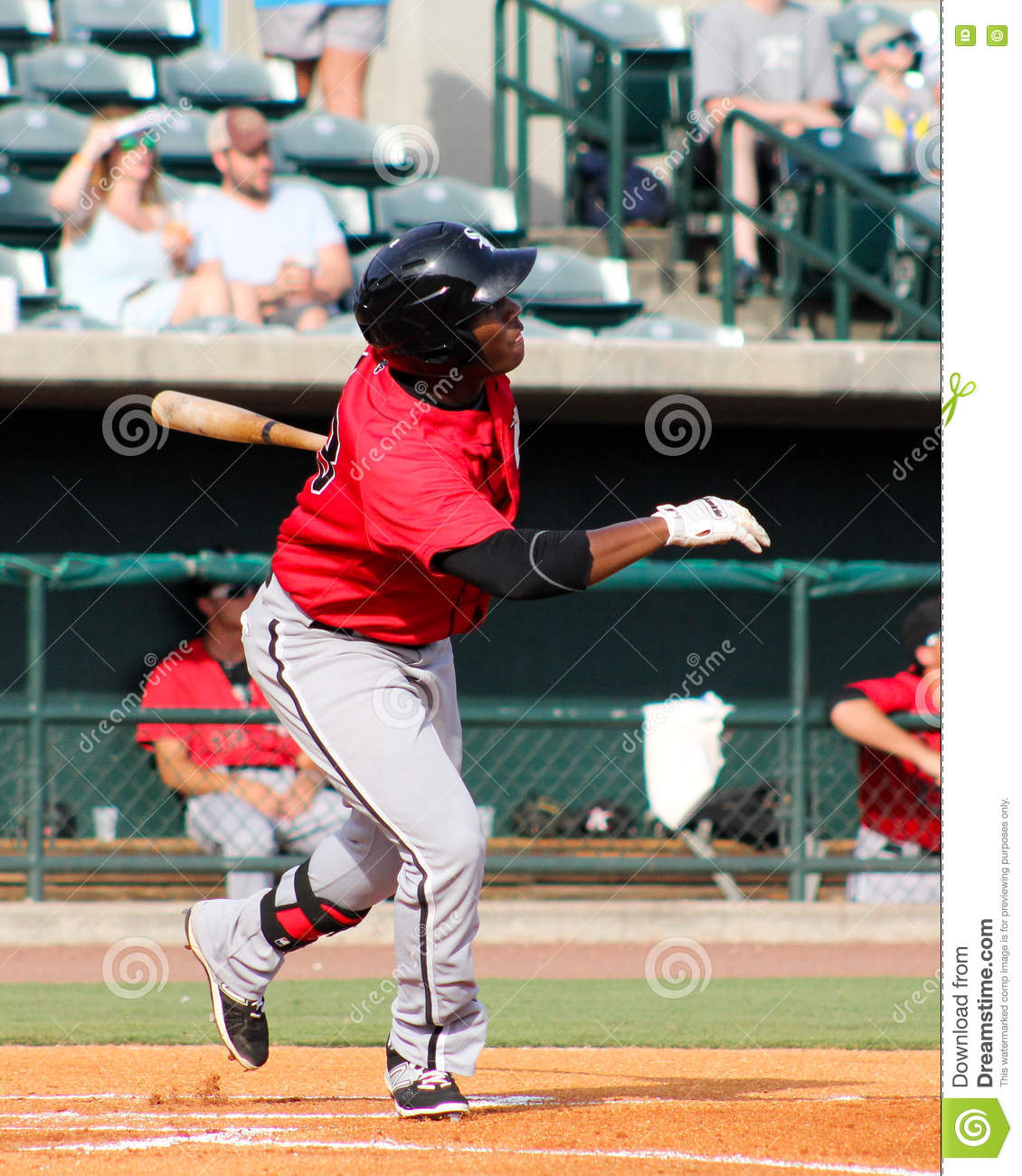 Homerun Swing Editorial Stock Photo Image Of Field 56623493