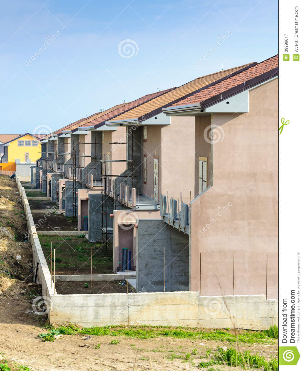 Home construction site stock photo image 39999617 for Home construction websites