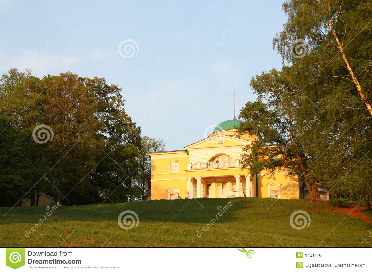 Homestead in the classical style royalty free stock image for Free homestead