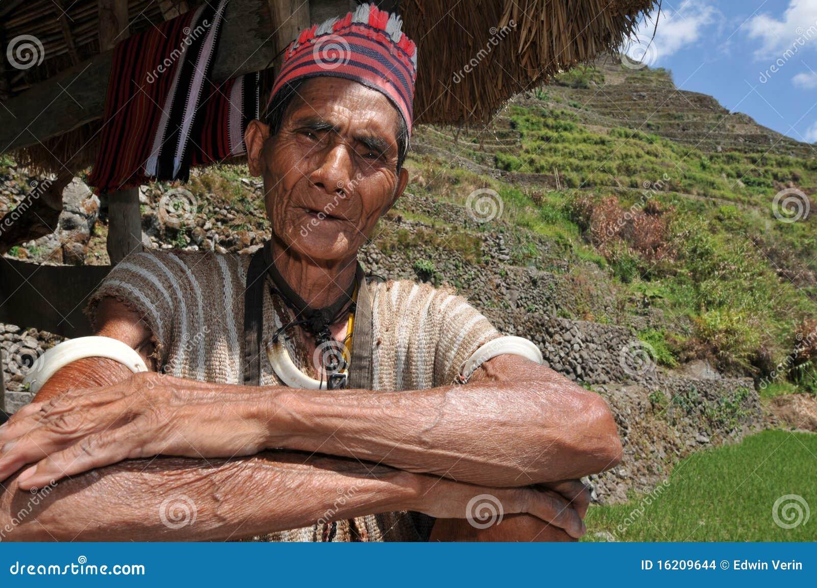 Homme âgé indigène