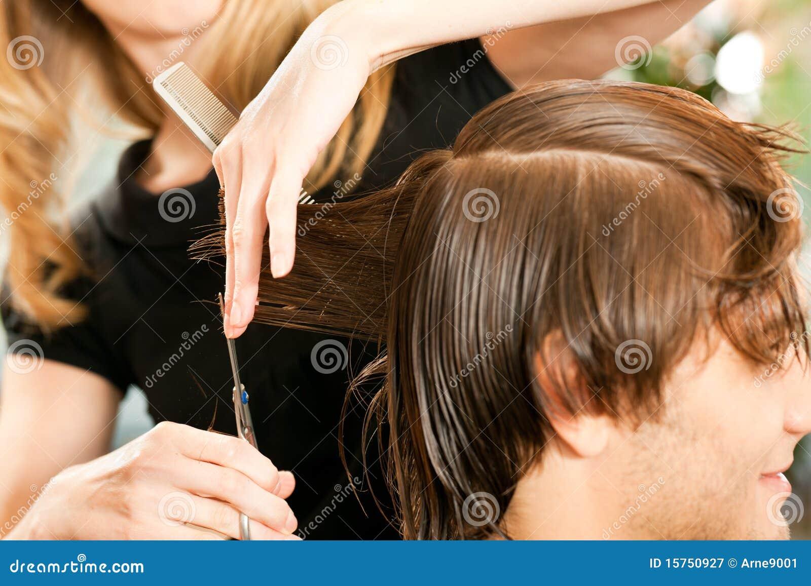 Cherche emploi coiffeur homme