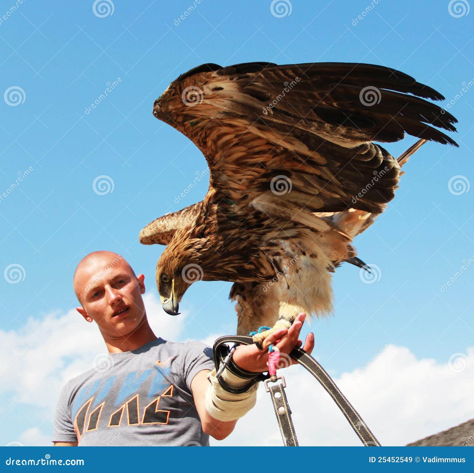 Rencontre homme l'aigle