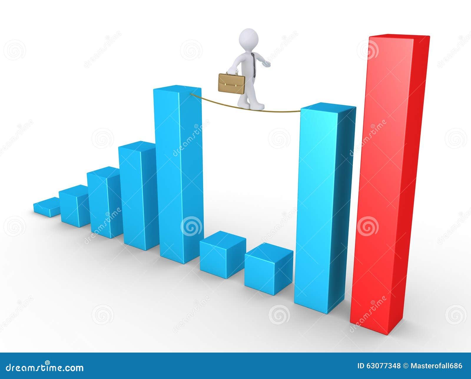 Download Homme D'affaires équilibrant Sur Des Colonnes Illustration Stock - Illustration du affaires, équilibre: 63077348