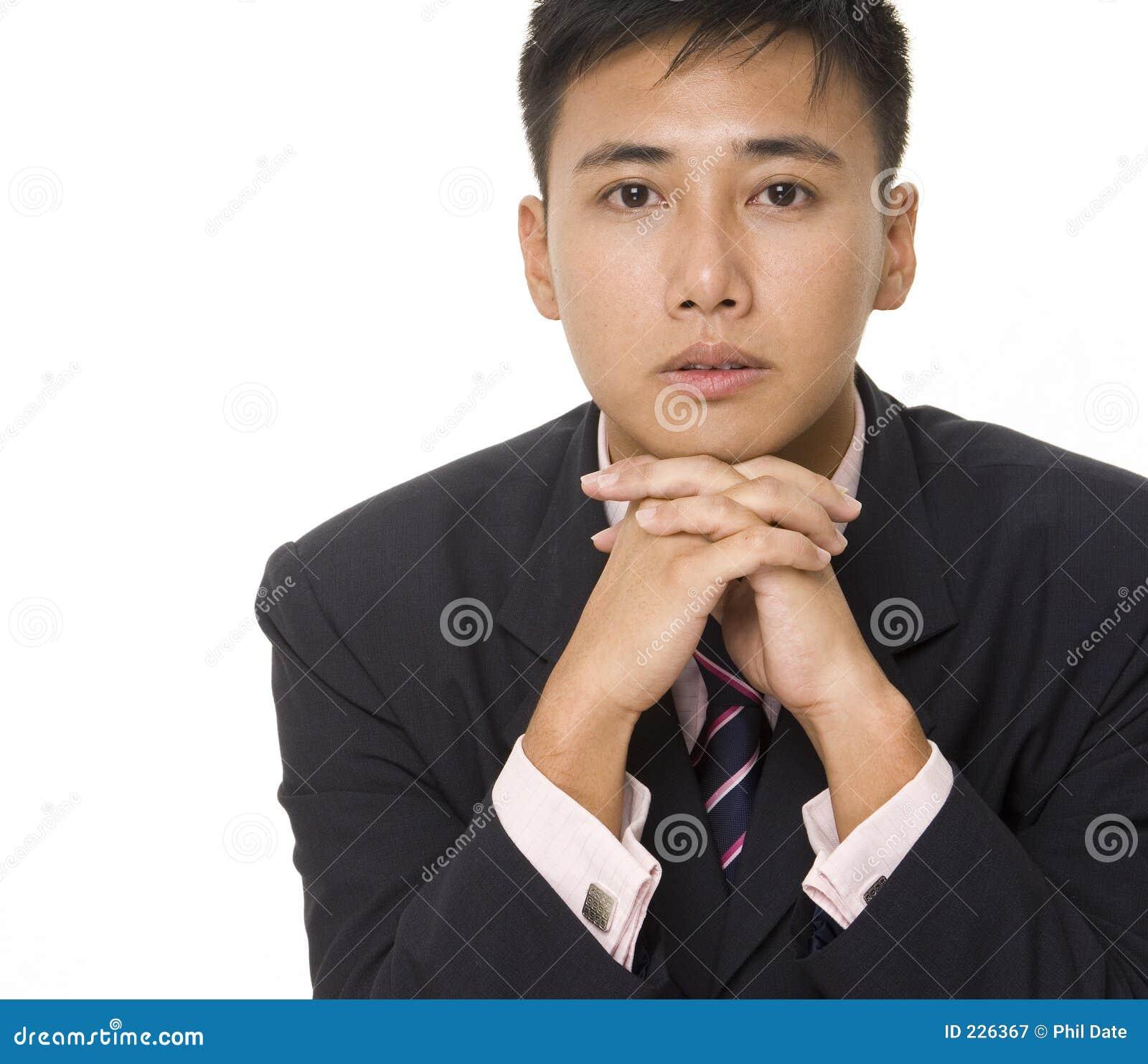 Homme d affaires asiatique 3