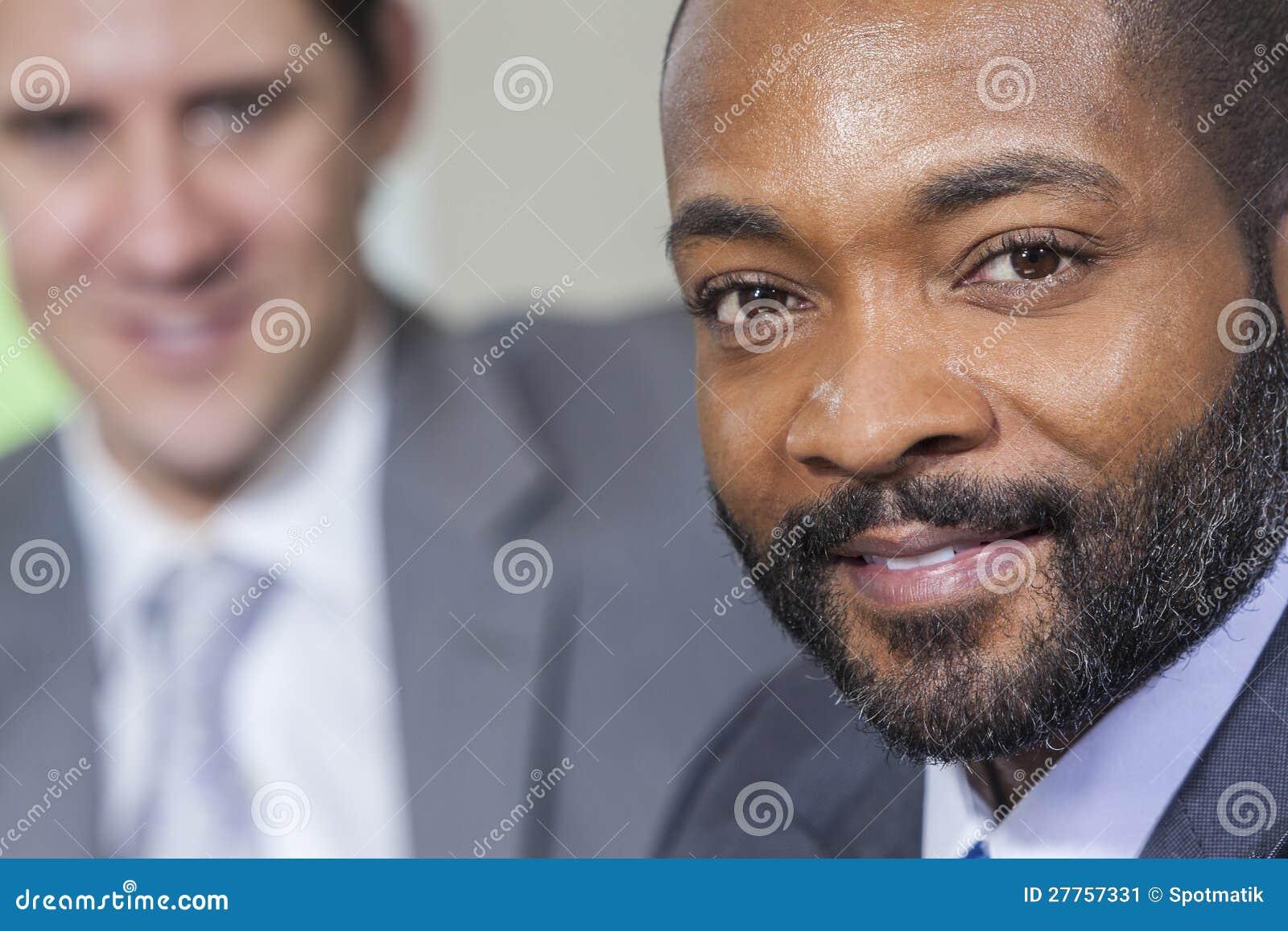 Homme d affaires d Afro-américain
