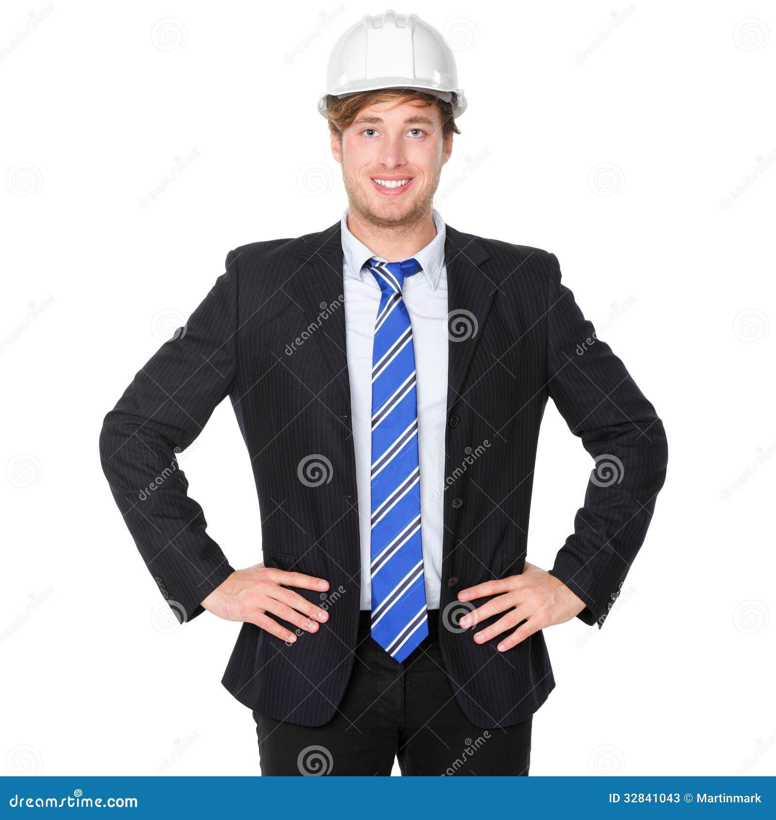 homme d 39 affaires d 39 ing nieur ou d 39 architecte dans le costume image stock image 32841043. Black Bedroom Furniture Sets. Home Design Ideas