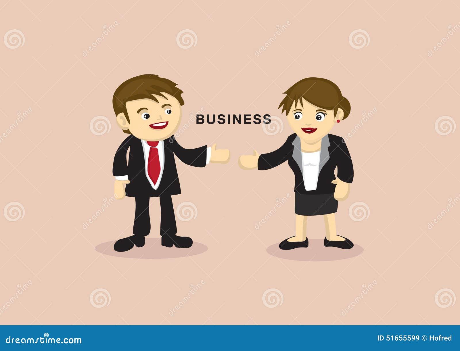 Rencontre d'homme d'affaire